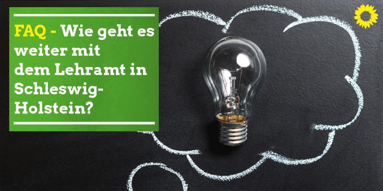 FAQ - Wie geht es weiter mit dem Lehramt in Schleswig-Holstein?