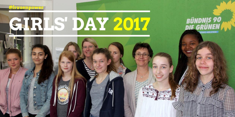 Besuch in der Grünen Landtagsfraktion zum Girls' Day - @Eugenia Seibel