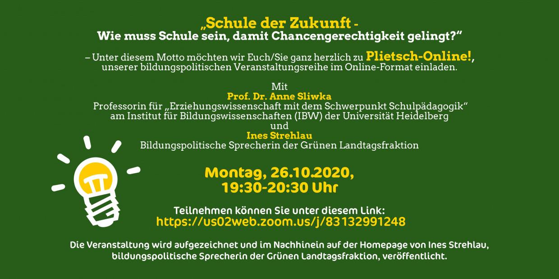 Plietsch-Online: Schule der Zukunft