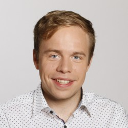 Rasmus Andresen im Portrait