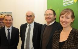 Laurent Toulouse, Philippe Etienne, Bernd Voß und Friederike Pokatis