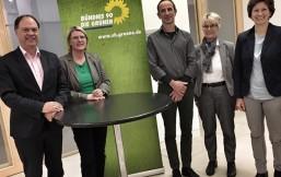 Jörg Adler, Anita Pungs-Niemeier, Andreas Tietze, Anette Reinders und Marret Boh