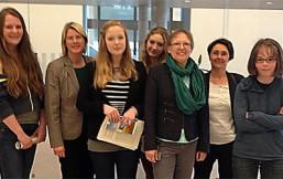 Girls' Day in der Grünen Landtagsfraktion