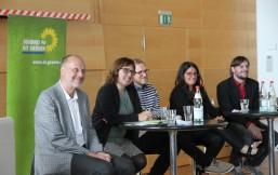 Eka von Kalben, Ulrich Wagner, Reyhan Kuyumcu, Steffen Beigang und Johannes Albi
