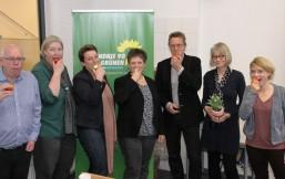 Gruppenbild der ReferentInnen der Grünen Zukunftswerft @Leo Ubben