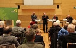 Markus Kurth beantwortet Fragen aus dem Publikum zum Grünen Rentenkonzept