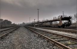 Schienen nahe Kiel