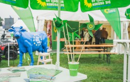 Der Grüne Norla-Messestand